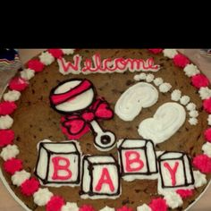 Cute 21st Birthday Cookie Cake With A Martini Glass Could