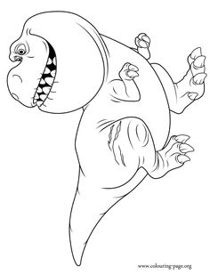 tyrannosaurus coloring pages and dinosaurs on pinterest