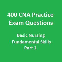 Cna Free Example Test  cna practice test prep 2017 android