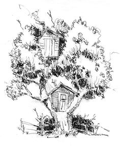 treehouse one tree two treehouse coloring page more