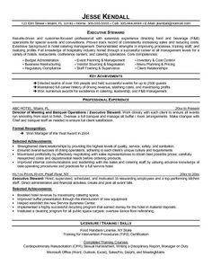 professional resume cover letter sample chef resume free sample