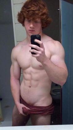 blonde thong selfie