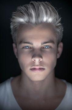 jackson overland blue and white hair on pinterest