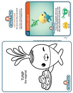 1000 images about octonauts coloring pages on pinterest fish