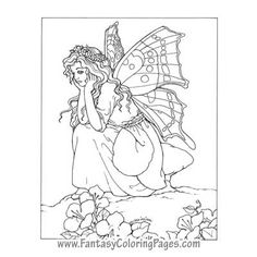 coloring pages fairies and coloring on pinterest