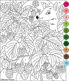 color by numbers free coloring pages and free coloring on pinterest