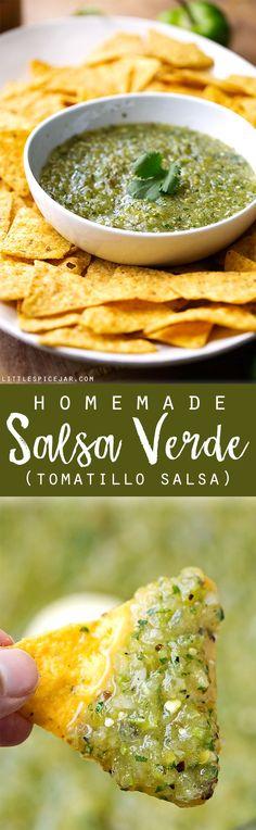 Homemade Salsa Verde