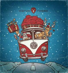 1000 Images About Have A Happy Kombi Christmas On