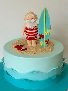 1000 Images About Beach And Sea Cakes On Pinterest