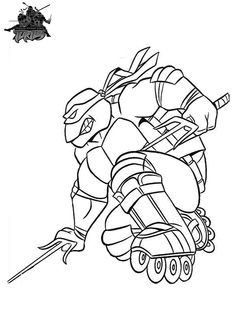 1000 images about ninja turtle coloring pages on pinterest