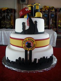 1000 Images About Fireman Cakes On Pinterest Fireman