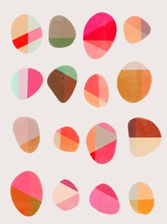Painted Pebbles 5 by