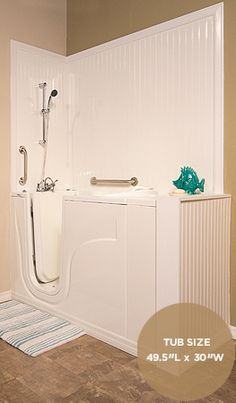 Walk In Tub Shower Combo Walk In Tubs And Showers Are
