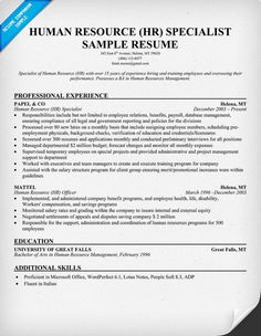 HR Assistant Resume examples samples Human Resources Assistant Free edit with word