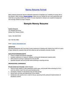 babysitter resume skills good babysitting resume volumetrics co