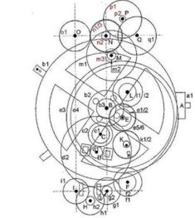 Resultado de imagen para anticetera mechanism X-Tek
