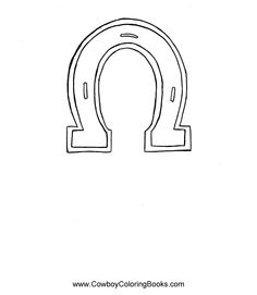 Coloring page horseshoe - coloring picture horseshoe. Free ... | 271x236