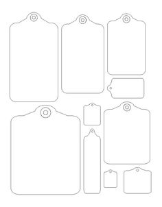 Door Tag Templates. burris 3 per page hanger for microsoft word ...