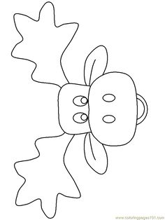 moose printable coloring pages and coloring pages on pinterest