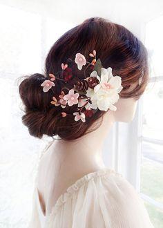 rustic wedding hair on pinterest bridal headpieces wedding hair accessories and flower crowns