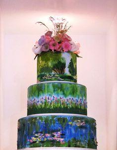 1000 Images About Cakes Art Paint On Pinterest Art