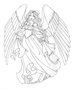 christmas angel coloring pages angels coloring pages beautiful angel