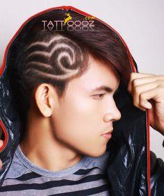 hair tattoos on pinterest hair tattoo designs crazy art and star hair