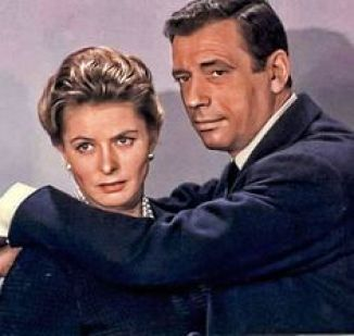Image result for yves montand and ingrid bergman