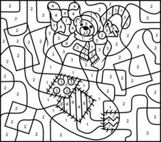nicole 39 s free coloring pages christmas color by number i copy