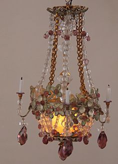 Brass Chandelier Candelabra Vintage Estate Dollhouse Miniature Its A Small World Pinterest Chandeliers And Miniatures