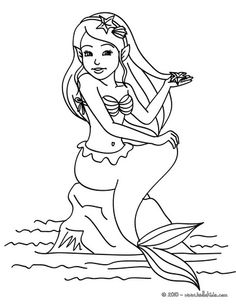 1000 images about simple coloring pages on pinterest mermaid