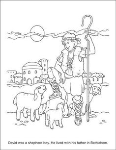 david bible coloring pages and king david on pinterest