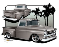 ELECTRIC: L6 Engine Wiring Diagram | '60s Chevy C10  Wiring & Electric | Pinterest | Engine