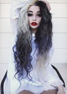1000 images about black and white hair on pinterest scene hair black and blonde and blonde
