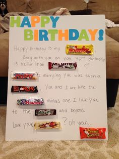 1000 Images About Husbands Birthday Ideas On Pinterest