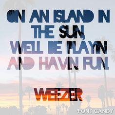 1000+ ideas about Weezer Lyrics on Pinterest | Rivers ...