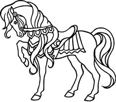 horse coloring pages coloring pages and horses on pinterest