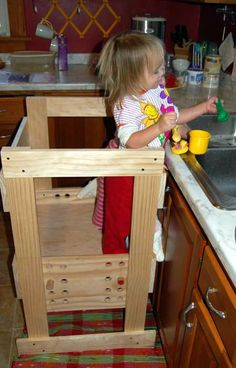 Child Kitchen Helper Step Stool Step Stools Stools And