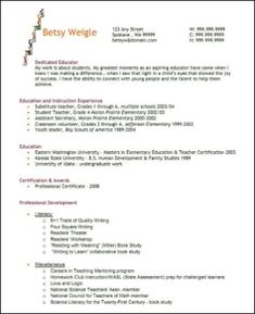 1000 images about resumes on pinterest teacher resumes resume