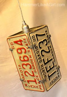 Upcycled License Plate Wall Coat Rack 34 75 Quot Long
