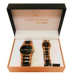 Geneva Classic Collection His And Hers Wrist Watch Set