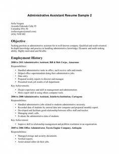 1000 images about resume samples on pinterest resume objective