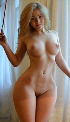 wide hips bent over
