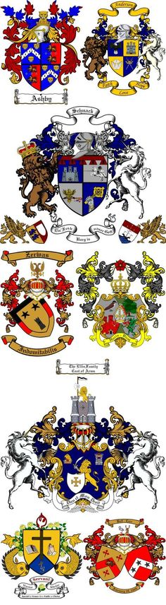 Hungary Coats Family Crests Arms