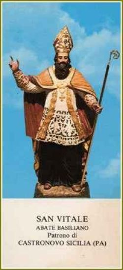 sveti Vital de Castronovo - menih in puščavnik