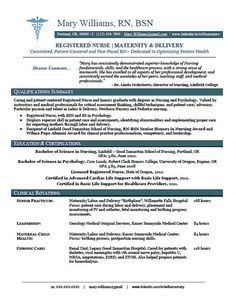 nursing resume resume skills and resume on pinterest