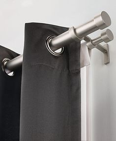 1000 Images About Window Designs On Pinterest Bay Window Curtain Rod Double Curtain Rods And