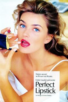 Image result for estee lauder in the 80's
