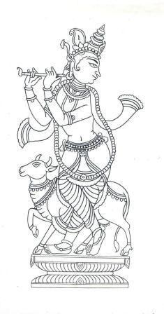 Ganesha Chaturt Coloring Page Ganadhyakshina Coloring