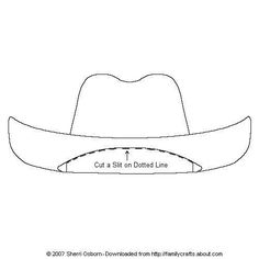 cowboy hats cowboys and coloring pages on pinterest